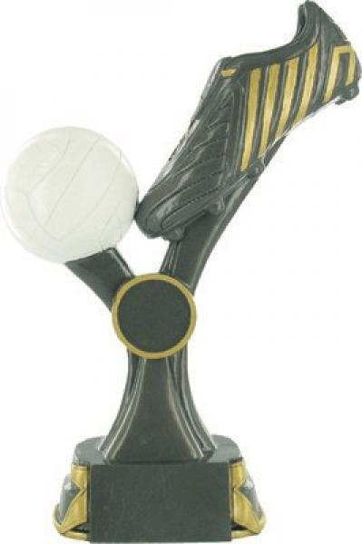 Gaelic Trophy With Ball & Boot