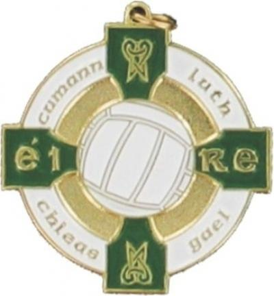 Gaelic Football Medal - Green