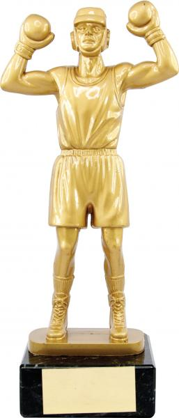 Gold Figure Boxing Trophy