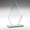 Diamond Glass Plaque