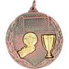 Bronze Soccer Medal