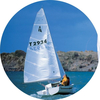 Sailing medal sticker