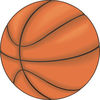 Basketball sticker