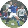 soccer medal sticker