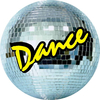 Dancing Medal Sticker