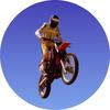 Motorbike Medal Sticker