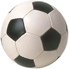 Soccer ball medal sticker