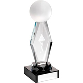 Crystal glass Snooker/Pool Trophy