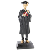 Male Graduation Figurine