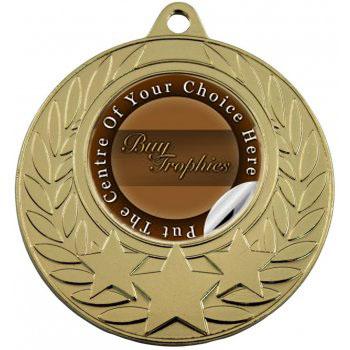 3 Star Wreath Medal gold