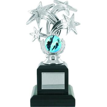 Starburst Silver Trophy