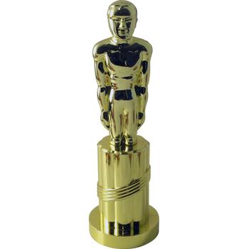 Gold Budget Statue