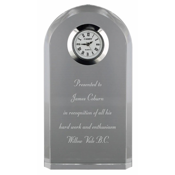 Cuchulainn Crystal Executive Clock