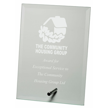Jade Glass Square Award