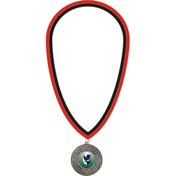 Black & Red Medal Ribbon