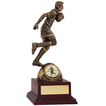 Running Rugby Star Trophy