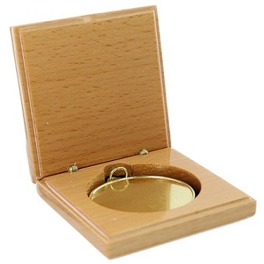 Wooden Medal Box
