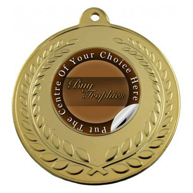 gold wreath medal