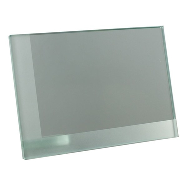Strutted Glass Plaque