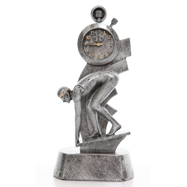 Silver Swimming Trophy